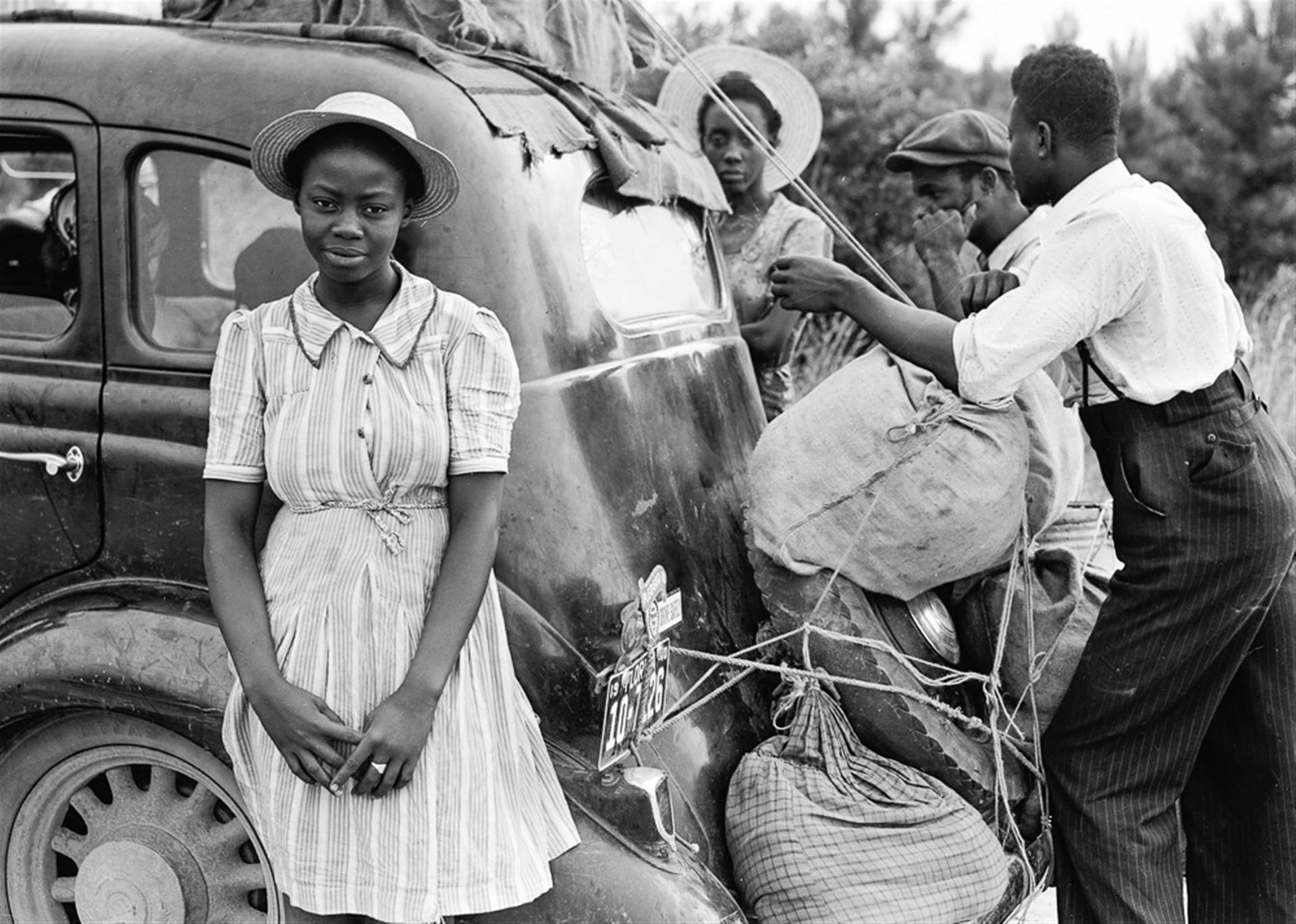 1920, des afro-américains à la recherche d'un meilleur cadre de vie