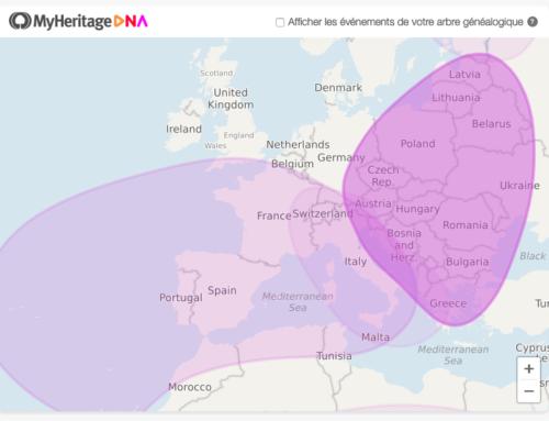 Mon avis sur le test ADN de MyHeritage