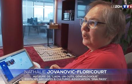 Interview dans un reportage du Journal télévisé de TF1 du 25 décembre 2019
