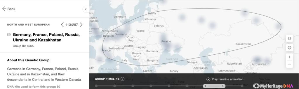 MyHeritage a créé des groupes génétiques quasiment aussi étendus que le continent européen lui même ! Quel intérêt pour les utilisateurs ?